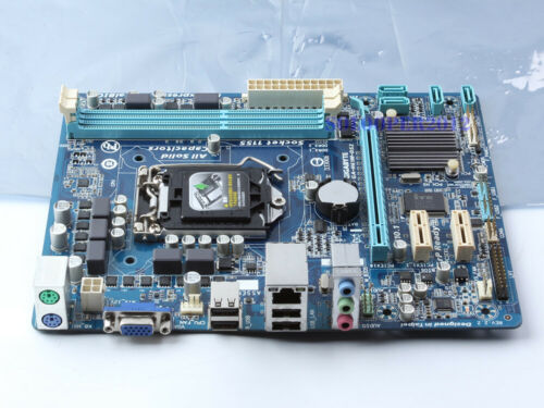 GIGABYTE GA-H61M-DS2 Socket 1155 Motherboard Intel H61 DDR3 Micro ATX SATA 3Gb//s