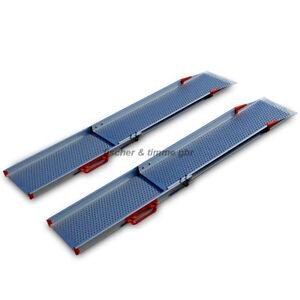 1,1m - 1,8m extra larghezza sedia a rotelle rampa telescopica rampa rampa Rolli accesso