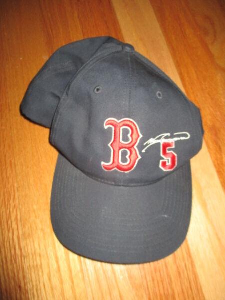 5907adba2af Vintage NOMAR GARCIAPARRA No. 5 BOSTON RED SOX Signature (Adj Snap Back) Cap
