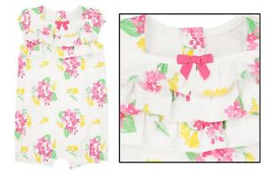 c53cafbe0e0 SPRING DRESSY  NWT Gymboree Baby Girl Floral Ruffle Bubble Romper 3 ...