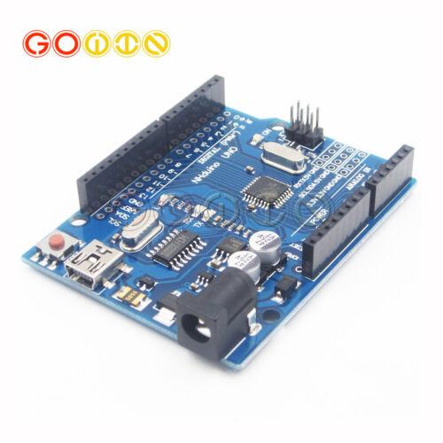 Mini//Micro USB Arduino UNO R3 CH340G ATmega328P Replace ATmega16U2 Board GO
