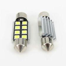 2pcs 36mm 2835 Festoon Canbus 8SMD LED Car Interior Dome Map Light Bulbs Lamp