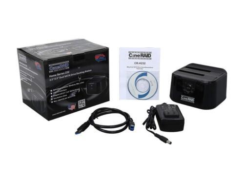 CineRAID CR-H232 USB 3.0 Dual Bay Hard Drive Dock