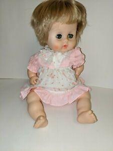 Vintage-1960-039-s-15-034-Ginny-Baby-Vogue-Doll-Drink-Wet-Vinyl