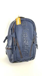 fantastic savings footwear outlet on sale Details about Superdry Men's Buff Tarp Backpack, Navy, Red Accents. One  Size New
