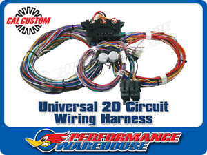 Sensational Universal 20 Circuit Wiring Harness Hot Rod Muscle Wiring Cloud Hisonuggs Outletorg