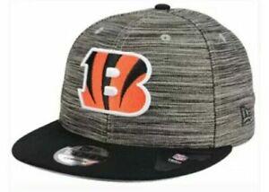 Cincinnati-Bengals-New-Era-9FIFTY-NFL-Men-039-s-Adjustable-Snapback-Cap-Hat