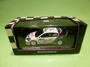 MINICHAMPS-1-43-FORD-FOCUS-RS-WRC-NESTE-RALLY-FINLAND-GOOD-CONDITION-IN-BOX