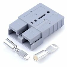1x 50Amp Anderson Style Plug 12v 24v Carvan Charger Battery DC Power Connector