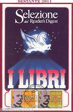 ITALIA MAXIMUM MAXI CARD SALONE LIBRO TORINO SELEZIONE READER'S DIGEST 1988 B231