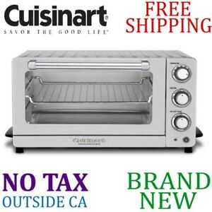 Details about New CUISINART Toaster OVEN TOB-7 Broiler w Interior OVEN  LIGHT Stainless Steel