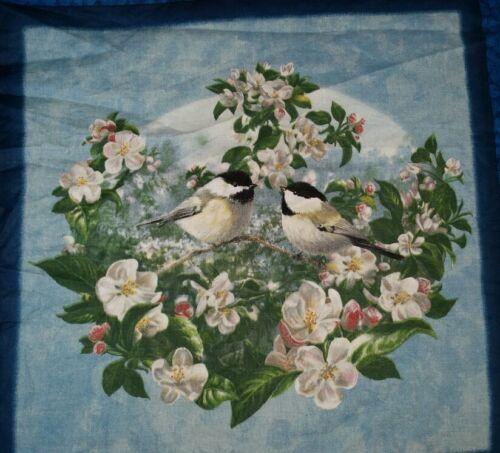 """16/"""" SPRING GARDEN FINCH SONG BIRDS FLORAL ACCENT PILLOW SHAM COVER"""