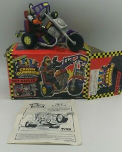 Vintage-1992-Tyco-Incredible-Crash-Test-Dummies-034-bot-Hauler-in-Box-selten