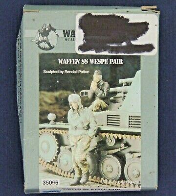 Warriors 1:35 WWII German SS Wespe 2 Resin Figures Kit #35066