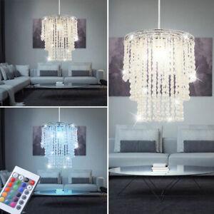 RGB LED Tisch Leuchte Kerzenständer Wohn Zimmer Kristall Lampe FERNBEDIENUNG