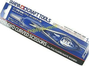 Tamiya-Mini-4WD-Tijeras-curvas-para-el-cuerpo-de-policarbonato-tamiay-Craft-Tools-74151