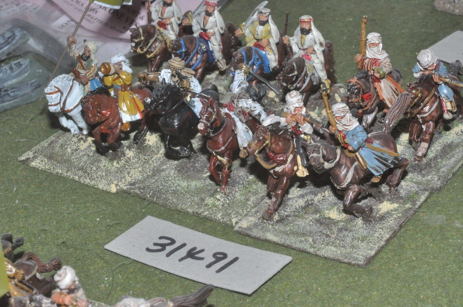 25mm WW1   arab - battle group 12 figures - cav (31491)