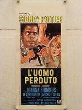 L'UOMO PERDUTO poliziesco regia R.A. Aurthur locandina orig. 1969