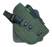 OD Green MOLLE Gun Cross Draw Pistol Holster 1911 Glock 17 40 45 M9