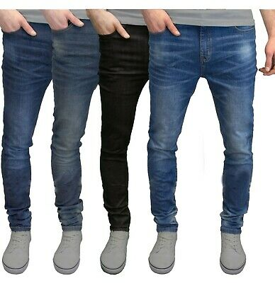 info for special sales superior quality Mens Slim Fit Jeans Super Stretch Denim Pants Slim Skinny Casual Designer  Jeans