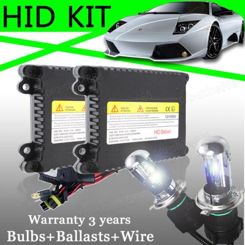 Set Xenon Hid Conversion Kit Bulb 55W 9003 H4 Bi-Xenon For Ford Fiesta Mk6 02-09