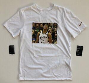 brand new 0637e 7f0da Details about Giannis Antetokounmpo Milwaukee Bucks Nike Player Pack  Performance Shirt Medium