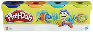 Play-Doh-4-pots-de-Pate-A-Modeler-Multicouleurs