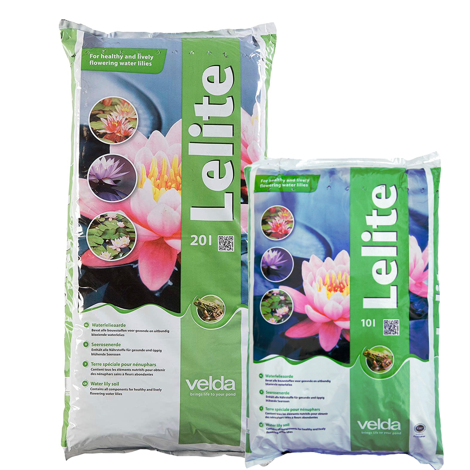 VELDA LELITE POND WATER LILY SOIL COMPOST PLANT SUBSTRATE NUTRIENTS MINERALS