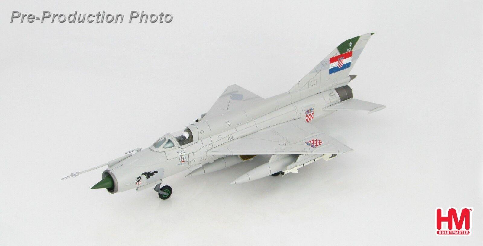 MiG-21bis Fishbed-N AVENGER OF DUBROVNIK Hobbymaster HA0193