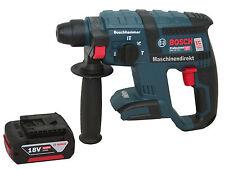 Bosch Akku Schlagbohrhammer GBH 18 V-EC SDS plus Bohrhammer SOLO+ 4,0 Ah Akku