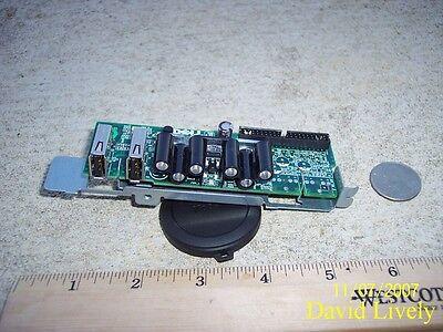 Dell J9925 Poweredge SC430 USB Control Panel CN-0J9925