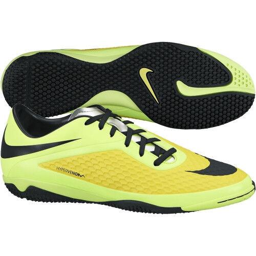 wholesale dealer fb9ff c04a5 Nike HyperVenom IN Phelon Indoor 2014 Soccer Shoes New Yellow / Black