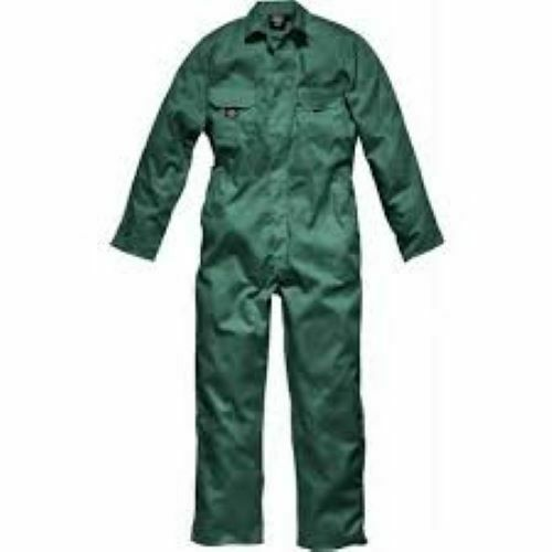DICKIES REDHAWK STUD FRONT OVERALLS WD4819R SMALL LINCOLN GREEN BOILERSUIT BNWT