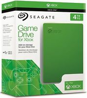 Seagate Game Drive For Xbox One 4tb Usb 3.0, Portable, External Hard Drive