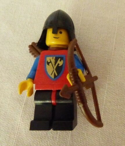 Solid Stud Head U CHOOSE LEGO 1980/'s Castle Tournament Crusader Minifigure
