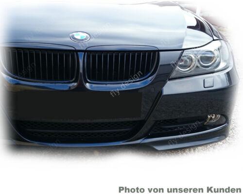 POUR BMW e91 e90 0811 Tuning Front Spoiler Avant Lèvre éclats BECQUET laqué 475