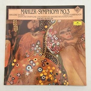 DG 413 525-1 Mahler Symphony no. 3 Marjorie Thomas Rafael Kubelik 2xLP
