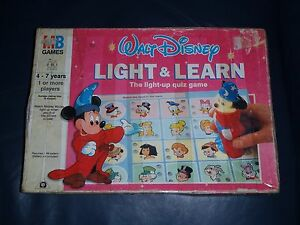 "Walt Disney Mickey Mouse ""Light And Learn"" Kids Game - Xmas Gift + Present."