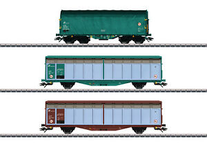 Marklin-H0-47871-Ensemble-de-Wagons-Marchandises-le-FS-Trenitalia-034-Nouveaute