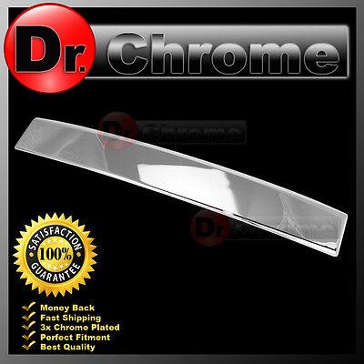 07 08 09 10 11 12 13 14 GMC Yukon DENALI Chrome Rear Hatch Liftgate Trunk Cover