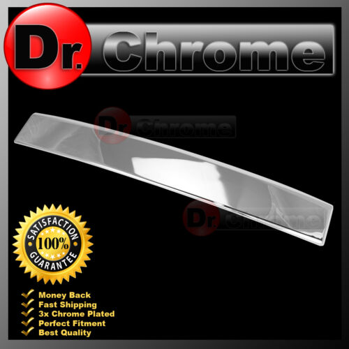 07-14 GMC Yukon+XL+DENALI Chrome Rear Hatch Liftgate Molding Trunk Cover 2013