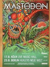 MASTODON 2016 TOUR   ++  orig.Concert Poster - Konzert Plakat  NEU