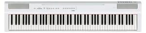 Yamaha-P-125WH-Stage-Piano-88-Tasten-Digitalpiano-Pedal-App-Lautsprecher-Weiss