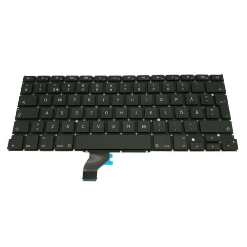 """Replacement Sweden Swedish Keyboard For Macbook Pro 13/"""" A1502 Retina 2013-2015"""