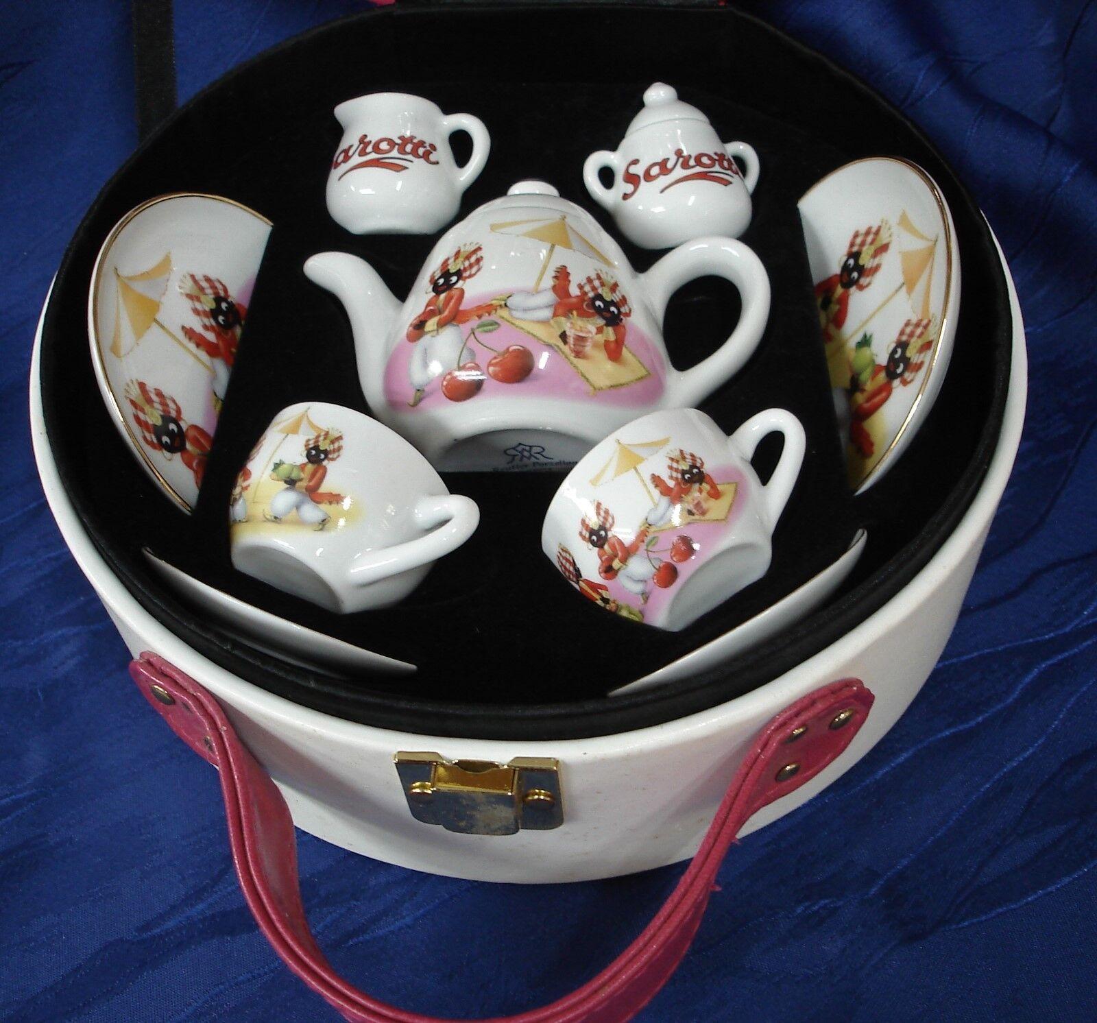 Kinder- oder Dollnpicknickbox Sarottimotiv Reutter Porzellan
