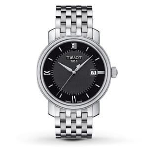 Tissot-Swiss-Made-T-Classic-Bridgeport-Stainless-Steel-Men-039-s-Watch