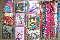 Disney World 10 Pin Trading Lot Lanyard Starter Set With Autograph Book And Pen