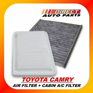 toyota camry combo cabin filter engine air filter get both. Black Bedroom Furniture Sets. Home Design Ideas