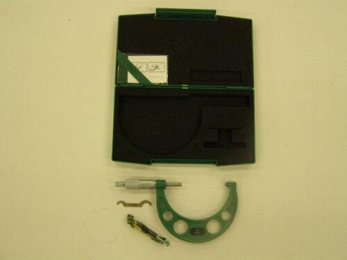 "INSIZE Outside Micrometer Mic 3-4x0.0001/"" Model # 3203-4"