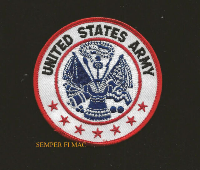 GREAT SEAL OF UNITED STATES iron-on PATCH embroidered EAGLE US USA EMBLEM BLUE
